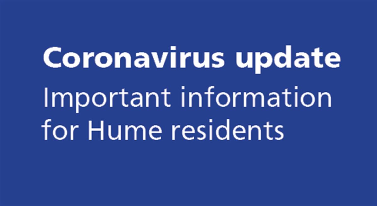 Coronavirus Covid 19 Hume City Council